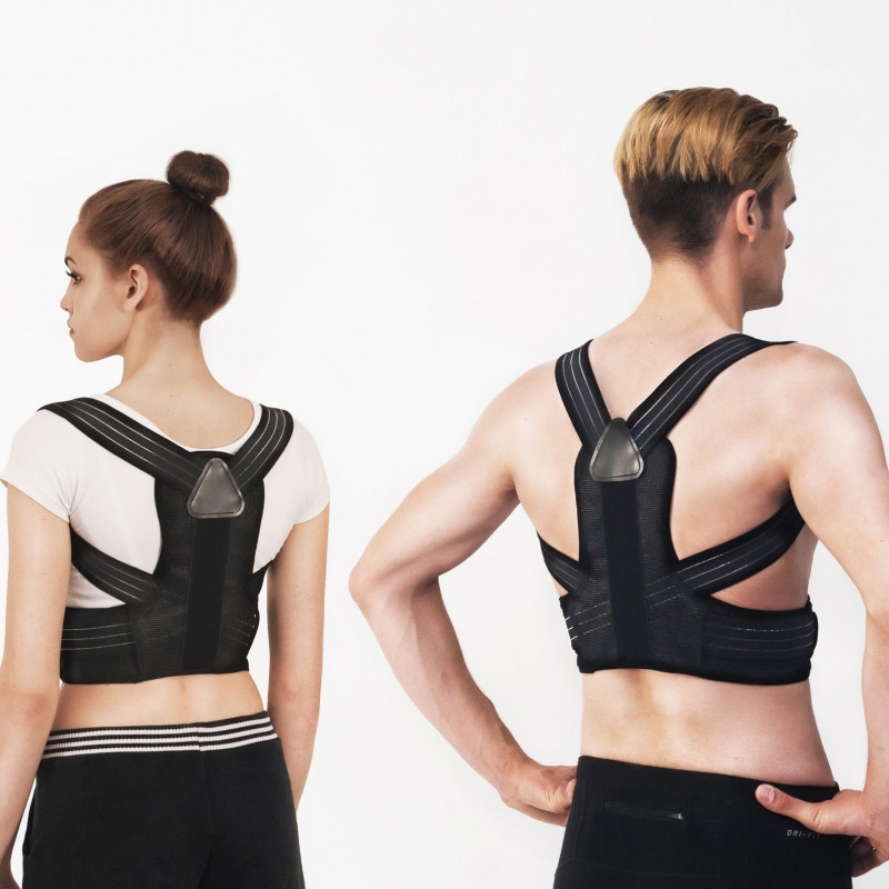 Back Brace. Product shoot with models