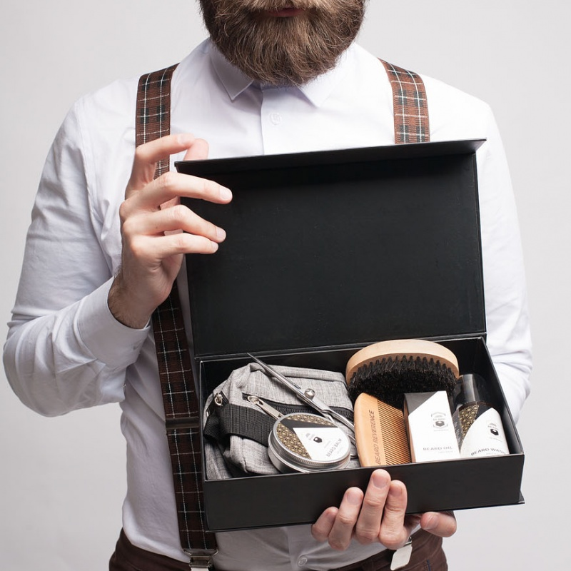 Creating Amazon Images for Beard Grooming Set