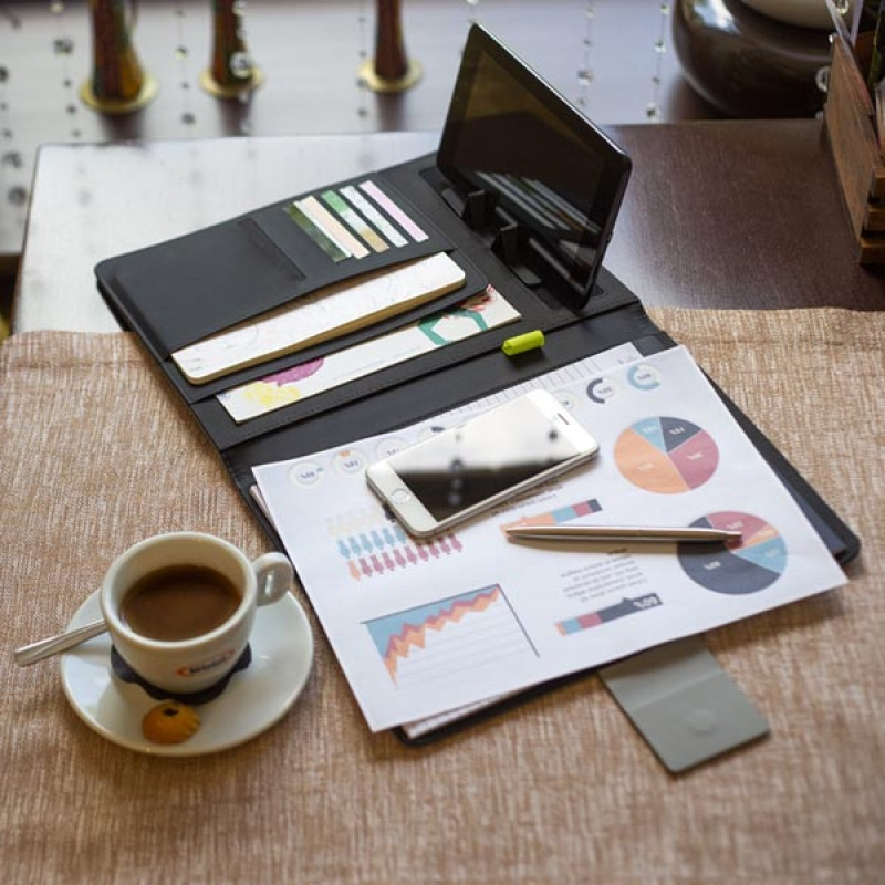 Product Photography Photoset. Stylish Padfolio
